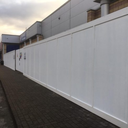 Site Hoarding Hampshire 5 Image Copyright 2020 Just Hoarding