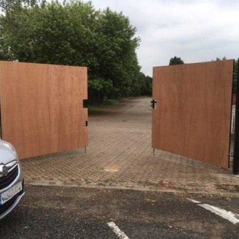 Site Gates Hampshire Image Copyright 2020 Just Hoarding