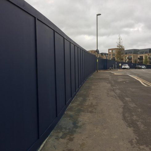 Site Gates and Construction Site Hoarding Surrey Copyright 2020 Just Hoarding